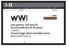 www.grandeguerra100.it
