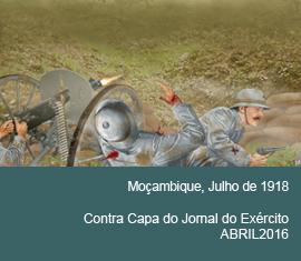 Contra Capa do Jornal do Exércio - Abril 2016