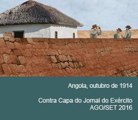 Contra Capa do Jornal do Exércio - Agosto/Setembro 2016