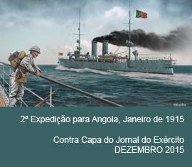 Contra Capa do Jornal do Exércio - Dezembro 2015