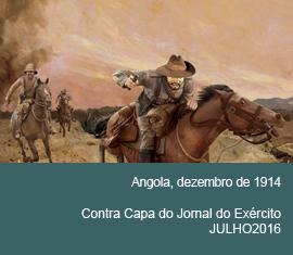 Contra Capa do Jornal do Exércio - Julho 2016