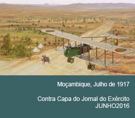 Contra Capa do Jornal do Exércio - Junho 2016