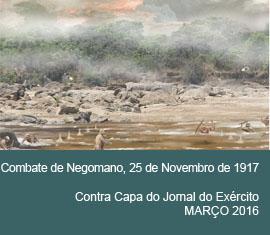 Contra Capa do Jornal do Exércio - Março 2016