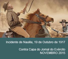 Contra Capa do Jornal do Exércio - Novembro 2015