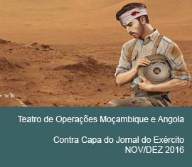Contra Capa do Jornal do Exércio - Novembro/Dezembro 2016